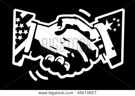 Handshake Usa And China