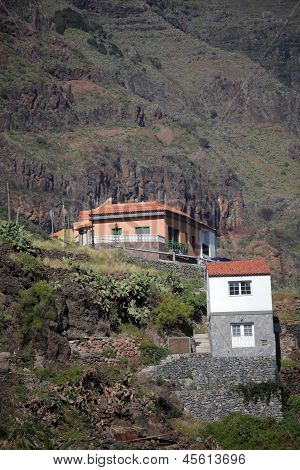 La Gomera hillside homes