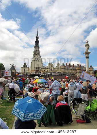 CZESTOCHOWA, POLAND - May 19, 2013: VII Congress of the Catholic Charismatic Renewal Czestochowa