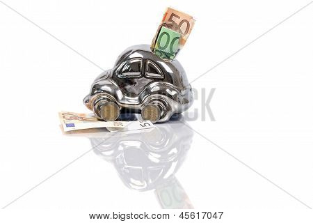 car piggy bank