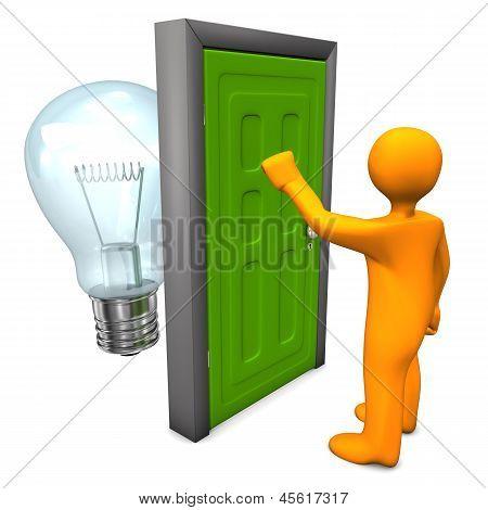 Manikin Door Bulb