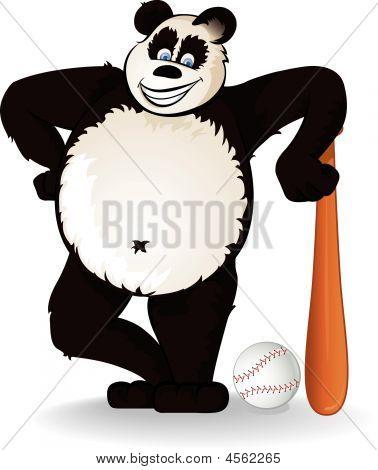 Baseball-panda