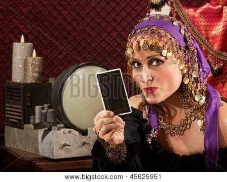 Cute Tarot Card Reader