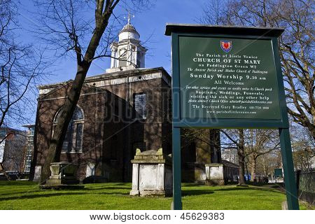 Church Of St. Mary In Paddington, London