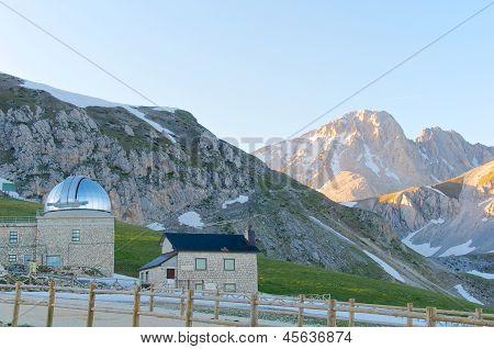 Astronomic Observatory, Corno Grande, Gran Sasso, L'aquila, Italy