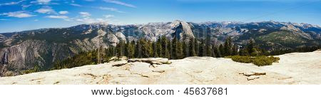 Yosemite National Park from Sentinel Dome, California