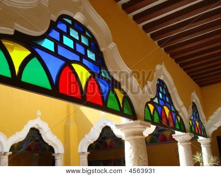 Carribbean Stained Glass