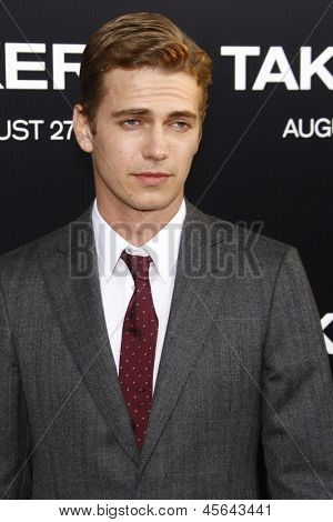 LOS ANGELES - AUG 4: Hayden Christensen at the World Premiere of Takers, held at the Arclight Cinerama Dome in Los Angeles, California on 4 August 2010