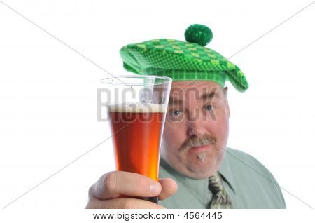 Man With A Beer