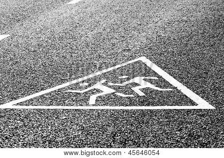 Warning road sign - Caution children!
