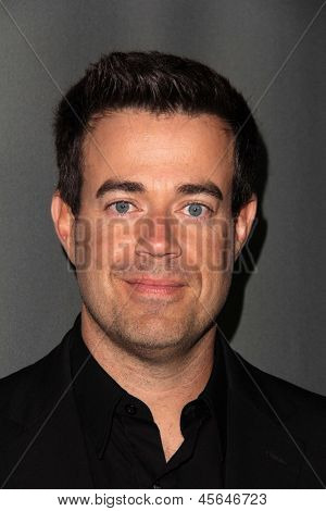"""LOS ANGELES - MAY 8:  Carson Daly arrives at """"The Voice"""" Season 4 Top 12 Event at the House of Blues on May 8, 2013 in West Hollywood, CA"""