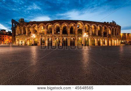 Arena, Verona Amphitheatre In Italy