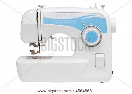 Sewing Machine, Isolated