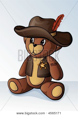 Cowboy Teddy Bear