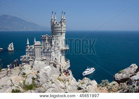 berühmten Schloss in der Nähe von Jalta, Swallow nest