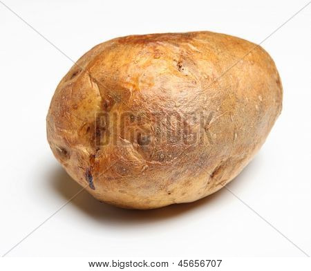 Freshly baked jacket potato