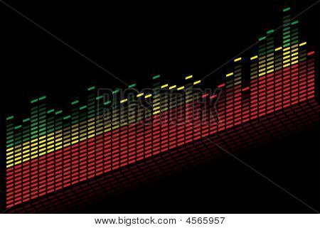 Graphic Equalizer - Vector Image
