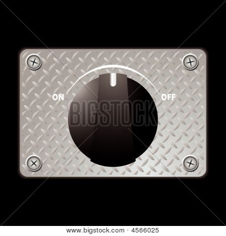 Switch Metal Panel
