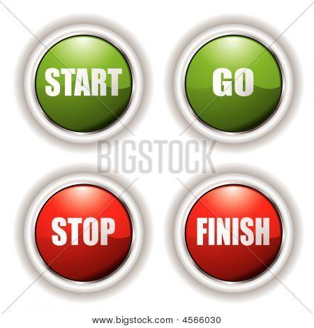 Stopp Starttaste