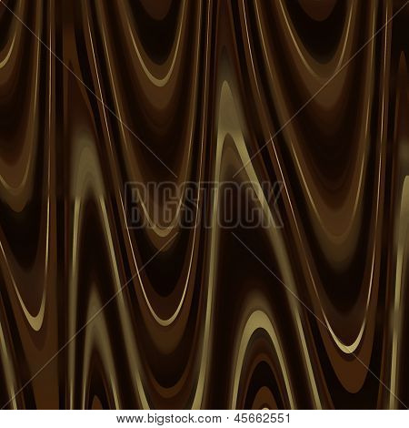 art dark chocolate swirl background