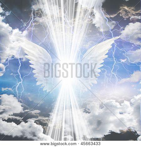 Engel wird verdeckt