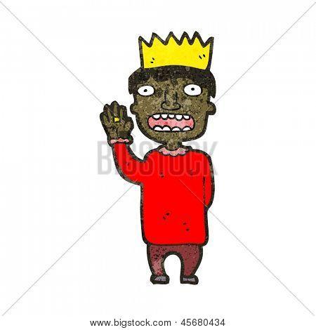 cartoon prince swearing oath