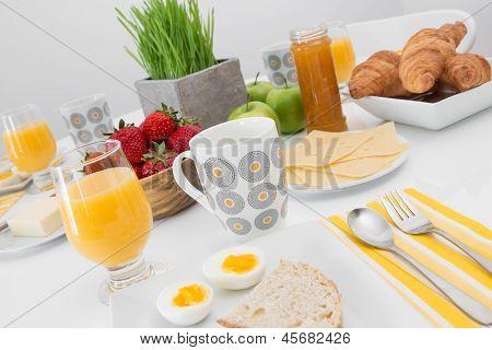 Tasty And Healthy Breakfast