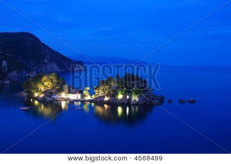 Panagias Island In Parga Greece