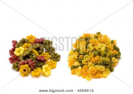 Mixed Colored Pasta