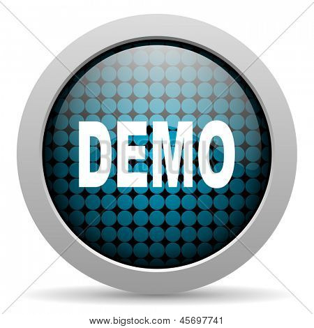 demo glossy icon