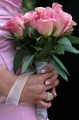 Wedding Day Flowers poster