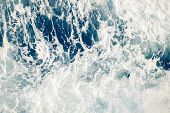 foamy water background