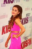 LOS ANGELES - MAY 11:  Ariana Grande attend the 2013 Wango Tango concert produced by KIIS-FM at the
