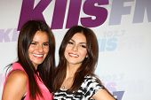 LOS ANGELES - MAY 11:  Madison Grace Reed, Victoria Justice attend the 2013 Wango Tango concert prod