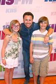 LOS ANGELES - MAY 11:  Chris Harrison and his children attend the 2013 Wango Tango concert produced