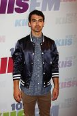 LOS ANGELES - MAY 11:  Joe Jonas attend the 2013 Wango Tango concert produced by KIIS-FM at the Home