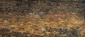 image of megapixel  - Background of brick wall texture 43 megapixels - JPG