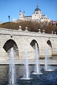 picture of senora  - Bridge of Segovia - JPG