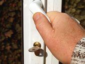 foto of open door  - opening the door  metaphor - JPG