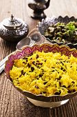 stock photo of barberry  - zereshk polo rice with barberries - JPG