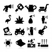 pic of sprinkler  - lawn Icons - JPG