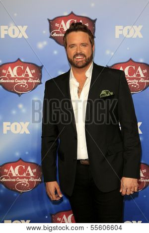 LAS VEGAS - DEC 10:  Randy Houser at the 2013 American Country Awards at Mandalay Bay Events Center on December 10, 2013 in Las Vegas, NV