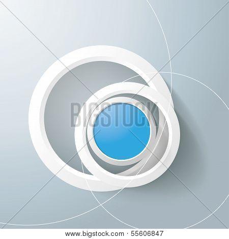 White Rings Blue Eye