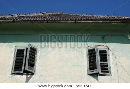Windows In Predjama