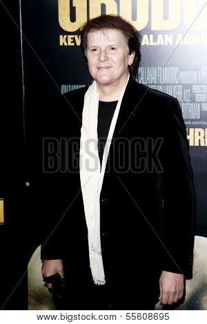 """NEW YORK-DEC 16: Composer Trevor Rabin attends the world premiere of """"Grudge Match"""" at the Ziegfeld Theatre on December 16, 2013 in New York City."""