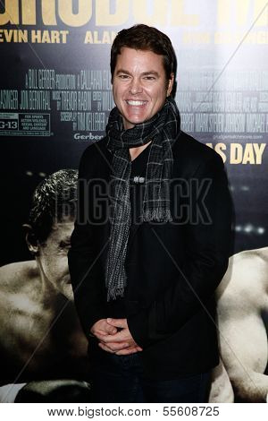 "NEW YORK-DEC 16: Producer Mark Johnson attends the world premiere of ""Grudge Match"" at the Ziegfeld Theatre on December 16, 2013 in New York City."