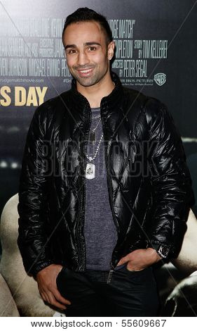NEW YORK-DEC 16: Boxer Paulie Malignaggi attends the world premiere of