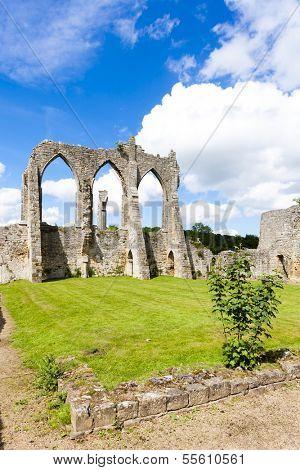 ruins of Bayham Abbey, Kent, England