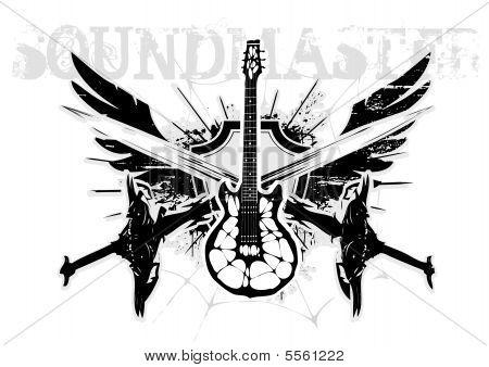 Electric Guitar Wings
