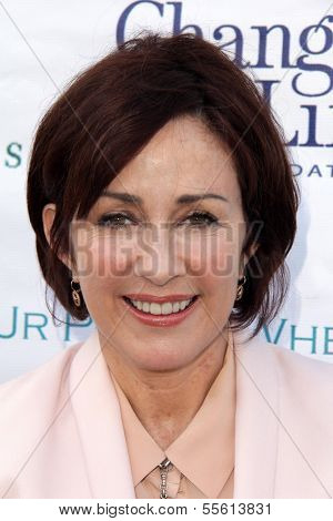 LOS ANGELES - MAY 18:  Patricia Heaton at the 6th Annual Compton Jr. Posse Gala  at Los Angeles Equestrian Center on May 18, 2013 in Los Angeles, CA